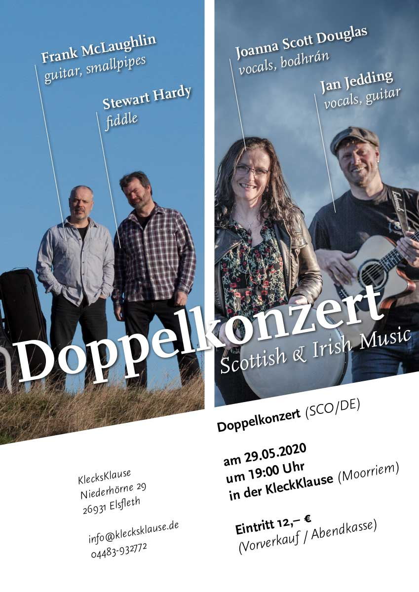 Doppelkonzert Marie's Wedding & Hardy/McLaughlin